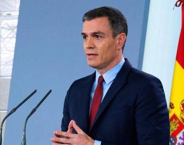 "Premierul spaniol Pedro Sanchez vrea un ""plan Marshall"" de la UE împotriva..."