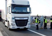 Transportatorii de mărfuri din Occident au probleme mari din cauza restricţiilor de circulaţie impuse de autorităţi pentru combaterea coronavirusului