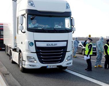 Transportatorii de mărfuri din Occident au probleme mari din cauza restricţiilor de...