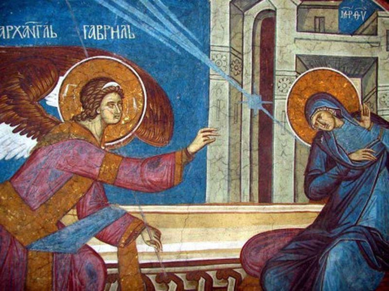 Buna Vestire  25 martie 2020 - calendar ortodox sarbatoare