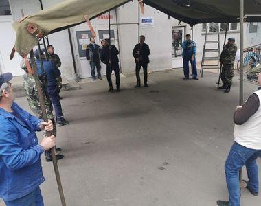 MApN: Doi angajaţi ai Spitalului Militar din Focşani, confirmaţi cu coronavirus