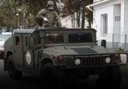 VIDEO  Carantină, cu armata pe străzi