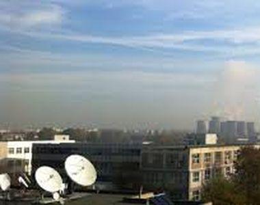 În București se înregistrează în continuare un record în ceea ce privește poluarea....