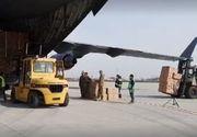 Al doilea transport de echipamente medicale din Coreea de Sud a ajuns la Bucureşti