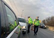 Filtre de poliție la intrările în București. Șoferii sunt verificați dacă respectă noile restricții/S-au format cozi interminabile de mașini