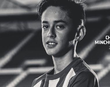 Atletico Madrid anunţă că unul dintre juniorii săi, Christian Minchola, a murit la doar...