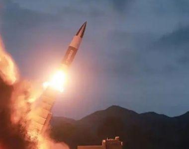 "Coreea de Nord a lansat ""un proiectil neidentificabil"""