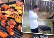 VIDEO| Sfidează carantina la grătare. Imagini incredibile