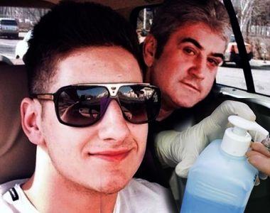 Fiul fostului ministru Gabriel Oprea a donat dezinfectant pentru mâini