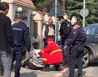 Incident șocant chiar în fața casei lui Gigi Becali