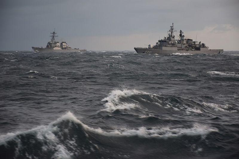 Antrenamente militare Marea Neagra