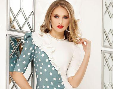 Simte-te frumoasă cu ajutorul acestor 5 rochii de zi fabricate în România!