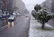 Iarna revine în România. Meteorologii anunță ninsori și vânt puternic în următoarele zile