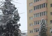 Iarna a revenit în România! A nins în mai multe zone din țară