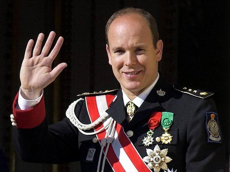 Printul Albert II de Monaco