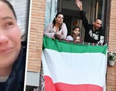 VIDEO| Strigătul disperat al unei românce însărcinate, din Italia
