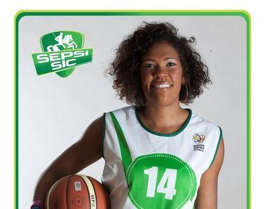 Baschetbalista Mekia Valentine, fostă jucătoare la campioana Sepsi Sf. Gheorghe, a...