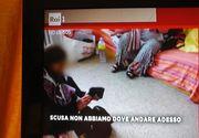 Imagini incredibile difuzate de Rai 1: Românii au început ocuparea abuzivă a caselor celor internați în spitale