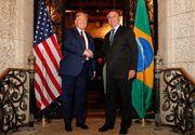 Bolsonaro vrea o cooperare medicală şi logistică cu Trump împotriva noului coronavirus