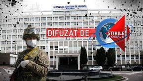 VIDEO| Armata preia spitalul din Suceava. A fost abandonat de șefii abia numiți să îl salveze