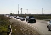Zeci de mașini de poliție, în drum spre Ialomița. Prefectul cere carantină totală în Țăndărei