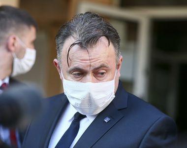 Ministrul Sănătăţii se află în judeţul Constanţa, unde verifică circuitele, stocul de...