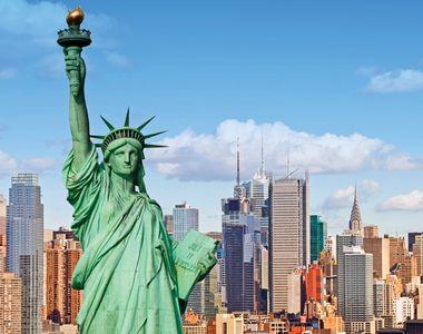"""New York, fantoma """"Orașului care nu doarme niciodată""""! Imagini incredibile din cea mai..."""