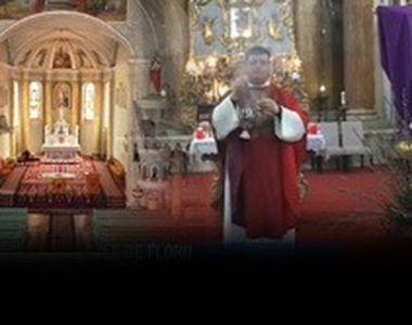 VIDEO| Catolicii au sărbătorit Floriile. Bisericile au fost goale