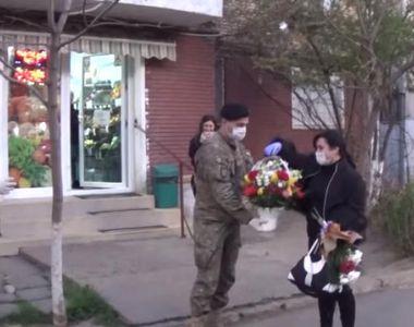 Mihaela, asistenta medicala de la Spitalul de Boli Infecțioase Galați care a fost...