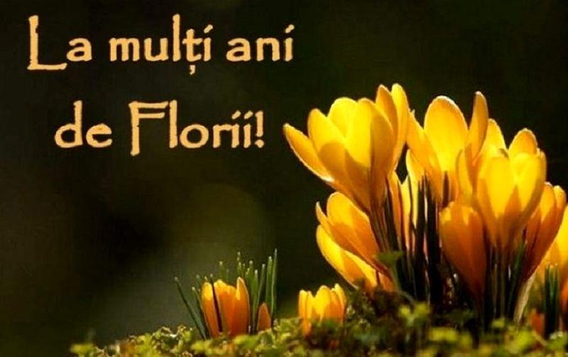 Mesaje de Florii 2020 - La multi ani de Florii - Urari de Florii 2020 - Felicitari de Florii 2020
