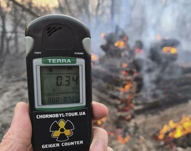 Incendii de pădure în jurul Centralei Nucleare de la Cernobîl nu au condus la o...