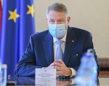 Iohannis: România nu este încă în faza de relaxare a măsurilor de izolare. Eu voi sta...