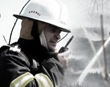 VIDEO| Aer toxic de la incendii în Capitală