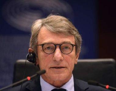 """Președintele PE, acuzații la adresa guvernelor UE. """"Răspunsul a fost slab"""""""
