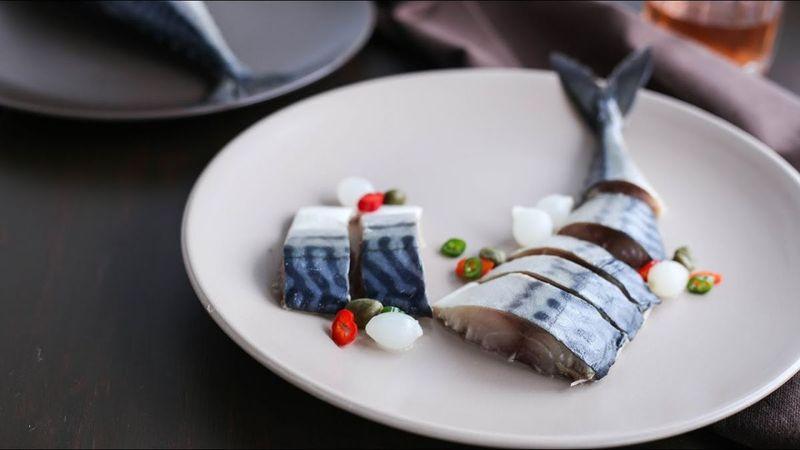 Macrou marinat - Dezlegare la peste Florii 2020