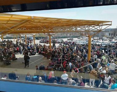 Dosar penal după scenele incredibile de pe Aeroportul Cluj. Mai mulți muncitori veneau...