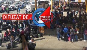 VIDEO | Îmbulzeală spre Germania și nepăsare