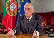 Preşedintele portughez Marcelo Rebelo de Sousa anunţă că urmează să prelungească starea de urgenţă până la 1 mai