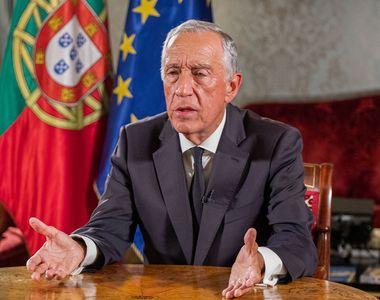 Preşedintele portughez Marcelo Rebelo de Sousa anunţă că urmează să prelungească starea...