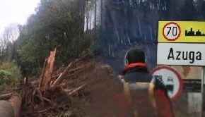 VIDEO | Alunecări de teren la Azuga: imagini incredibile surprinse
