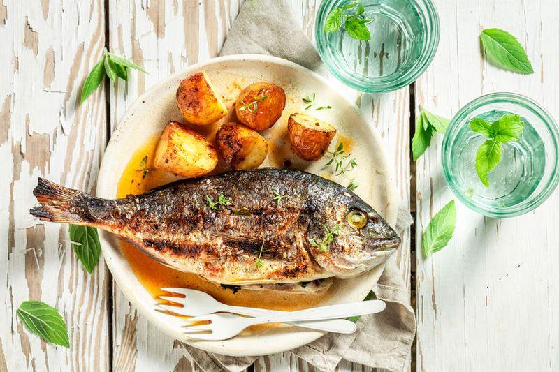 pește la cuptor