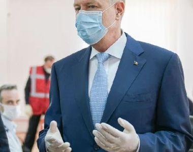 Iohannis este aşteptat să emită astăzi decretul de prelungire a stării de urgenţă cu...