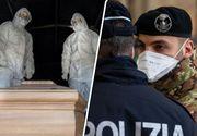 Șoc în Italia! Morții de coronavirus nu mai au loc în crematoriile din Lombardia! La ce soluții urgente au recurs autoritățile