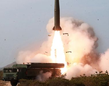 Coreea de Nord a efectuat noi teste ale rachetelor cu rază scurtă de acţiune