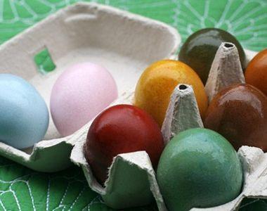 Ouă de Paște. Opt culori pe care le poți obține natural. Cum să vopsești ouă cu sfeclă,...