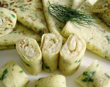 Clătite cu dovlecei. O rețetă simplă, un aperitiv delicios - rece sau cald