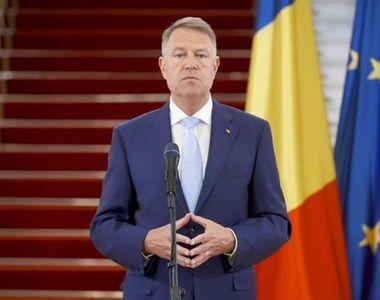 """Klaus Iohannis: """"Masca de protecție obligatorie după 15 mai"""""""