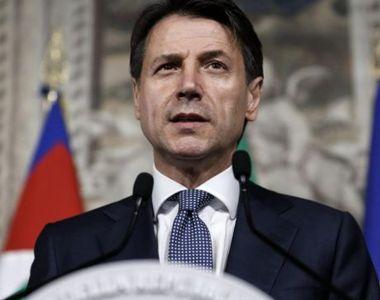 Premierul italian Giuseppe Conte: O relaxare a restricţiilor legate de coronavirus ar...