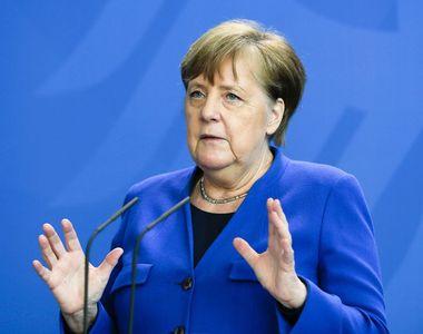 Angela Merkel îi îndeamnă pe germani la disciplină şi răbdare şi avertizează că...