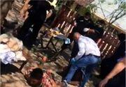 Un tânăr culcat la pământ este lovit în repetate rânduri de autorități/Șeful IPJ Giurgiu, demis